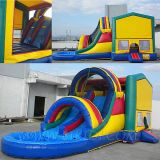 Bounce House Inflatables With Pool (B3049)