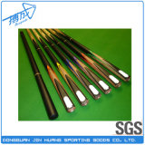 China Billiards Wholesaler 3/4 Jointed Snooker Cue with Extension