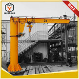 Newest Bz Type Column Movable Jib Crane with Electric Hoist