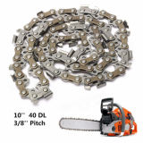 10 Inch 40 Drive Substitution Chainsaw Parts Saw Mill Chain 3/8 Inch Links Pitch 050 G