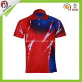 100% Polyester Customized Wholesale Chinasublimation Golf Polo Shirt for Men