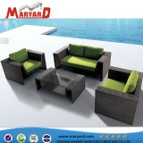 Rattan Garden Rattan Sofa, Outdoor Patio Rattan Sofa Chairs Bistro Chairs for Cafe
