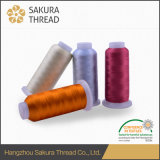 120d/2 100% Polyester Embroidery Thread with 1680 Color