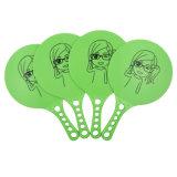 Promotion Gift OEM Wholesale Logo Printed Plastic Colorful Beach Racket