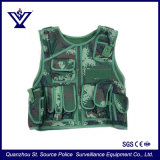 Camping Outdoor Military Green Camo Tactical Vest (SYSG-190114)