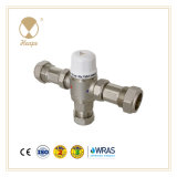 Heape New Tmv2/3 Brass Water Thermostatic Mixing Valve for Hardware, Tempering Valve, Mixing Valve, Temp. Valve