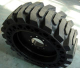 China Solid Skidsteer Tyre 10-16.5 12-16.5 14-17.5 15-19.5 Skid Steer