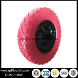 Wheelbarrow Flat Free Puncture Proof Solid Tyre PU Foam Wheel