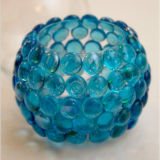Blue Glass Stone Crystal Crafts