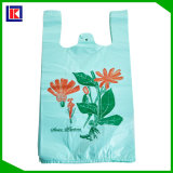 Various Printed Plastic Retail Grocery Shopping T-Shirt Handle Bag