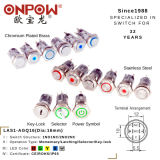 Onpow Established in 1988/Push Button Metal Switch 16mm with Waterproof/Power Symbol/on-off Light