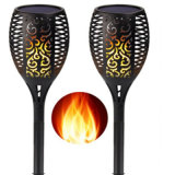 Christmas Solar Torch Light Used for Garden ABS Solar LED Lawn Lamp