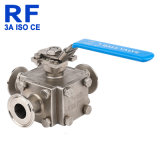 RF Quick Connect 3 Way Full Bore Manual Ball Valve