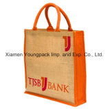 Wholesale Handmade Custom Design Fashion Women's Jute Hessian Handbags