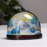 Best Quality Cheap Acrylic Wholesale Custom Photo Snow Globe