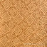 Square Flower PVC Leather for Handbag, Upholstery Sofa Furniture