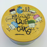 Cartoon Candy Tin Box Sets Round Biscuit Tins