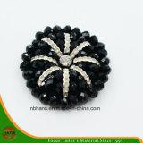 Fashion Acrylic Black Flower (RSD-05)