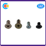 Stainless Steel M6 Cross Countersunk Head Screws for Electronics Industry