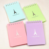 Spiral Binding Customized Mini Notebook Printing