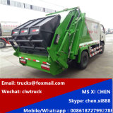 Made in China 3tons to 4tons LHD Compression Garbage Truck