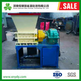 Double Shaft Metal Shredder Aluminum Can Recycling Machine