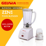 Guewakitchen Appliance Blender with Grinder 2 In1