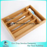 Bamboo Expandable Cutlery and Utility Drawer Organizer