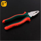 Hand Tools Combination Plier with TPR Handle
