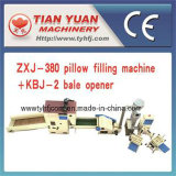 Zxj-380 Automatic Pillow Stuffing Machine with Kbj-2 Bale Opener