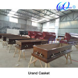 Veneer Wholesale High Gloss Velvet Casket and Coffin