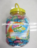 Center Filled Bubble Gum with Tin Packing