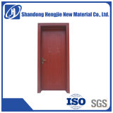 Soundproof Waterproof Eco-Friendly WPC Interior Door with Frame