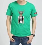 Wholesale Men Cotton Cheap Plain T-Shirt