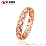 Fashion Jewelry Rose Color Luxury Zircon Round Bangle