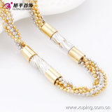 Fashion Xuping Multicolor Bead Women′s Neckalce in Environmental Copper-42671