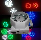 8PCS*3W CREE RGBW 4in1 LED 8 Eyes DJ Light with Gobo or Beam Effect