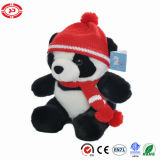 Cute Panda with Hat Scarf Plush Soft Gift Children Toy