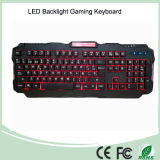 Mechanical Type Spanish Layout LED Backlit Multimedia Gaming Keyboard (KB-1901EL)
