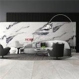 China Foshan Glazed Polished Panda White Marble Effect Porcelain Floor and Wall Tile