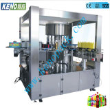 Keno-L218 Water Juice Beverage Carbonated Drink Automatic Drinking Bottling Rising Filling Capping Labeling Machine