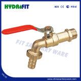 Nickle Plated Faucet Brass Bibcock Taps 1/2'' 3/4'' Bibcock (MF56005)