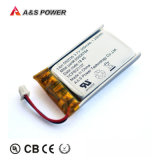 Factory UL2054 CB Kc Rechargeable Lipo 552035 3.7V 350mAh Lithium Polymer Battery for Bluetooth Earphone