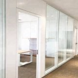 Shaneok Soundproof Aluminium Laminated Glass Wall Office Partition