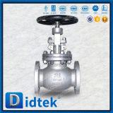 Didtek ANSI CF3m BS1873 Cast Steel Rising Stem Shut off Industrial Globe Valve