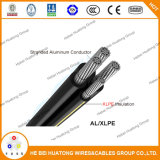 UL Standard 1/0AWG Mobile Home Feeder XLPE Insulation Mhf Cable