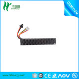 Hot Sale 11.1V 2000mAh Water Gun Lithium Battery -Black