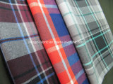 Cotton Yarn Dyed Flannel Fabric with Stretch