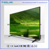 New Narrow Bezel Slim WiFi Android Smart FHD LED TV with Plastic Stand