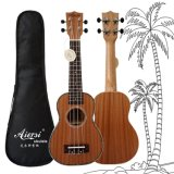 Wholesale String Instrument 21 Inch Solid Mahogany Hawaii Guitar
